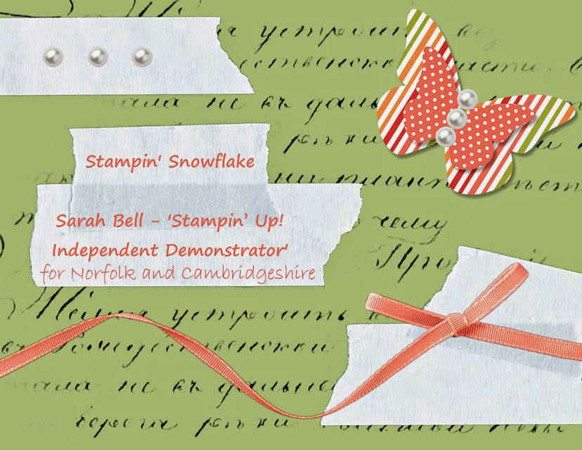 Stampin' Snowflake: Sarah Bell - Stampin' Up! Independent Demonstrator