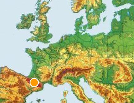 MAPAS INTERACTIVOS FSICOS DE EUROPA
