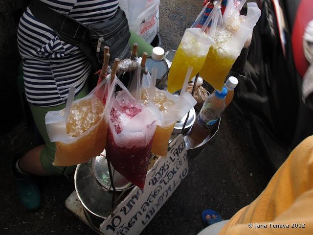 Drinks Bangkok Klong-Toye-Market