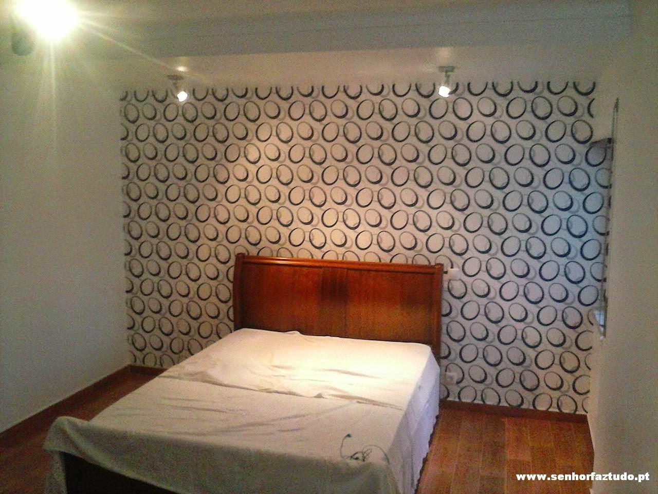 Senhor faz tudo faz tudo pelo seu lar pintura de um - Papel paredes ikea ...