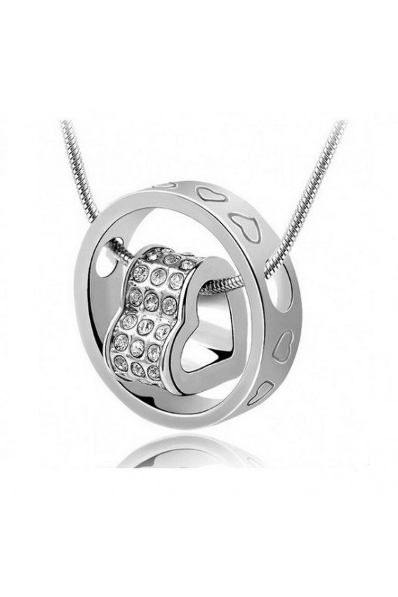 deparis eternal love ring necklace