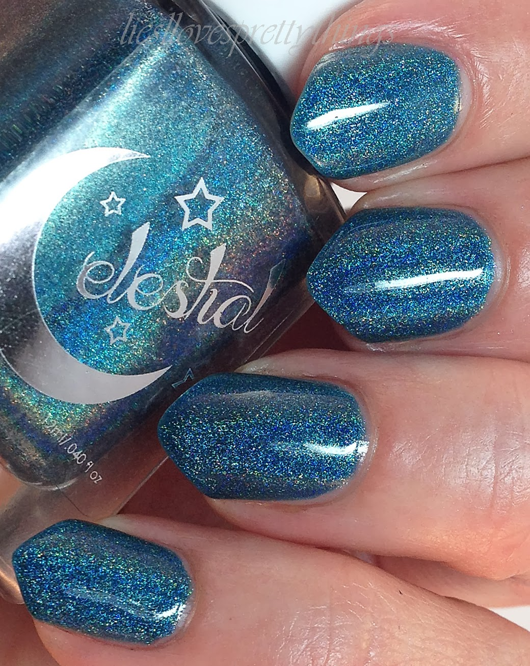 Celestial Cosmetics Ocean Mist swatch and review