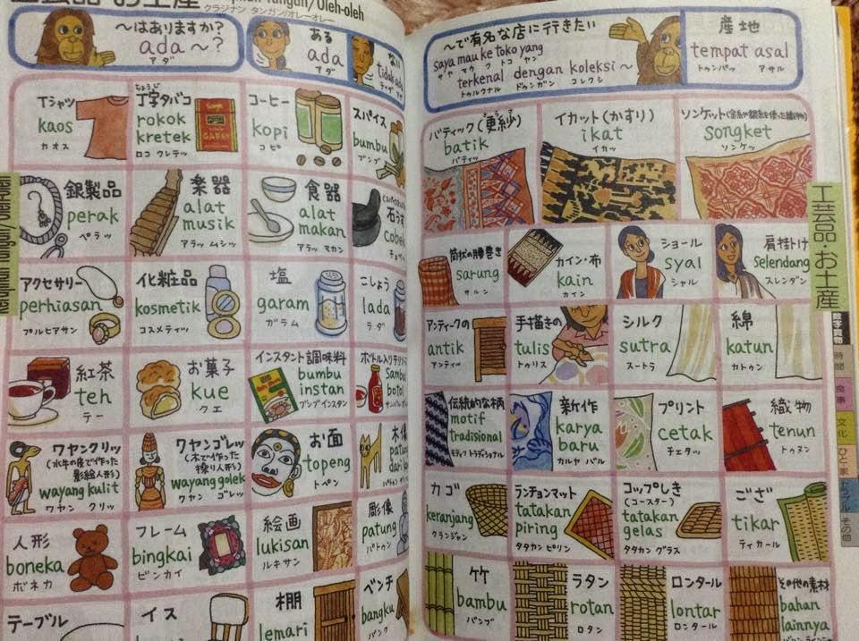 Kehidupan Di Jepang: Buku bahasa Indonesia di Jepang