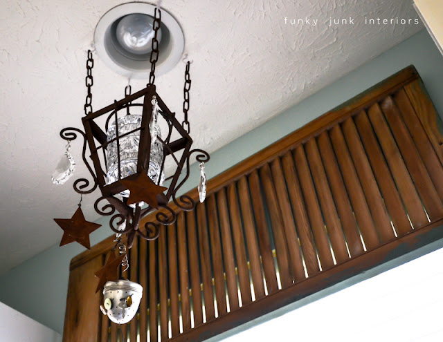 A junk tour of Bella Rustica Linda's house via Funky Junk Interiors