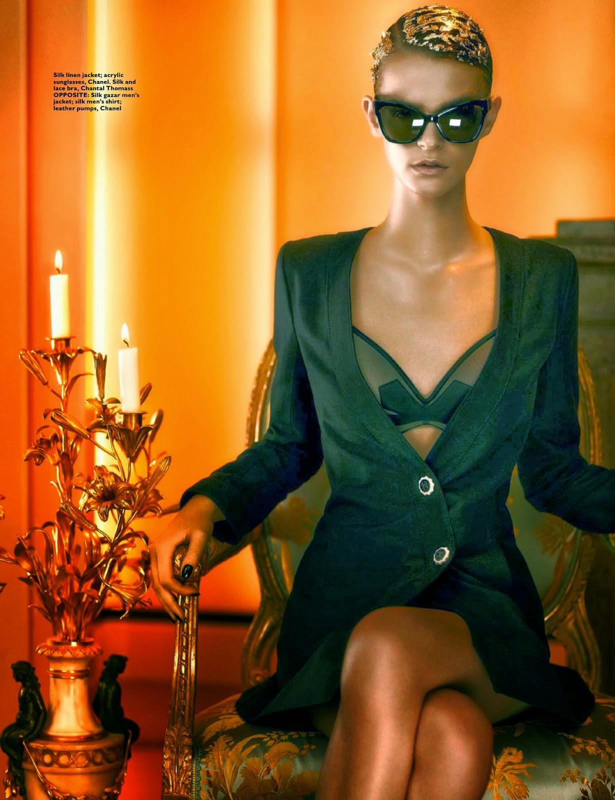 Magazine Photoshoot : Brogan Loftus Magazine Photoshoot by Thomas Cooksey for Harpe's Bazaar Singapore December