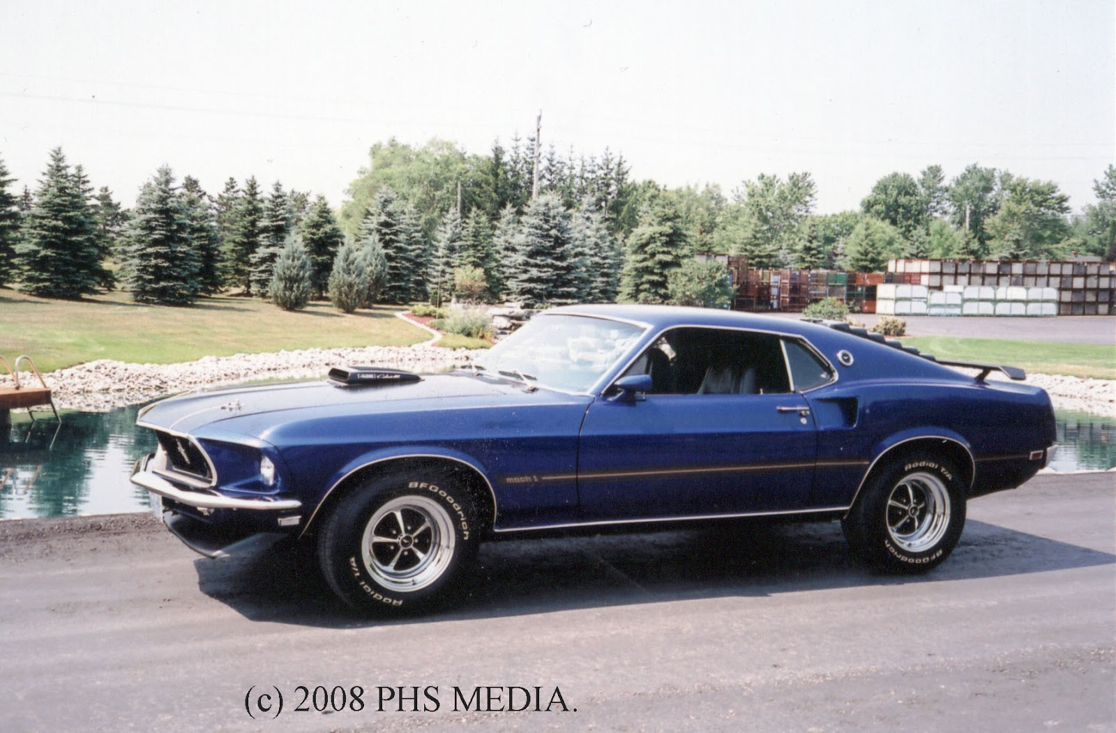 Muscle Car Icons 1969 Mustang 428 Cobrajet Mach 1 Ford Engine Diagram Motor Company Like All The Other Players Took A Long Time To Make Serious Round Big Block Pony Pioneered With Their