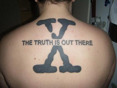 Tatuaje de X Files