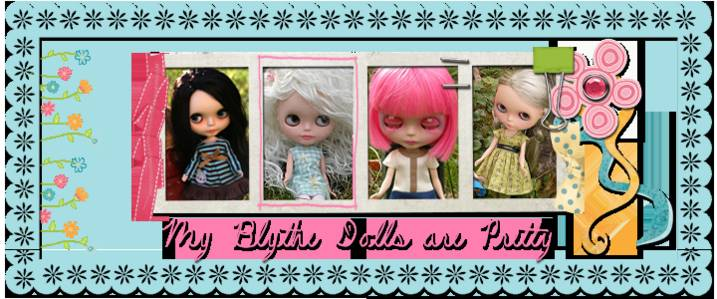 My Blythe Dolls Are Pretty