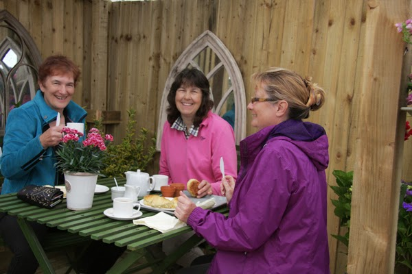 Cream teas at Preston Bissett Nurseries