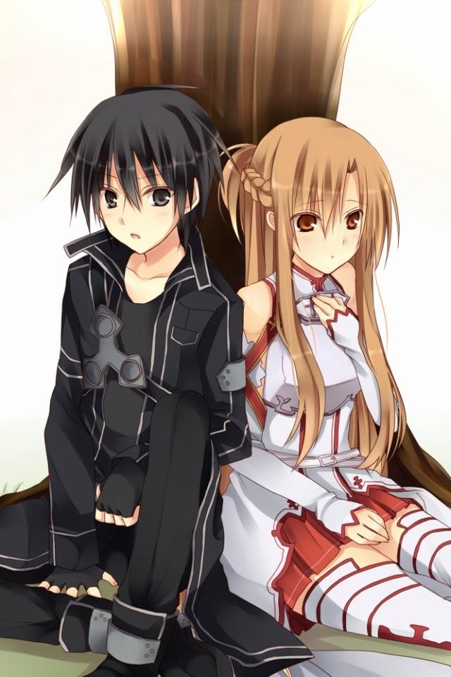 sword art online kirito and asuna meet up