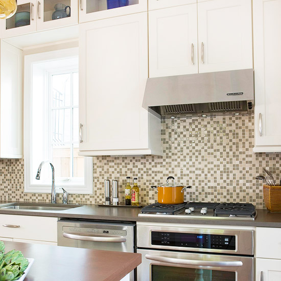 Interior Design For Kitchen Tiles: New Home Interior Design: Kitchen Backsplash Ideas: Tile