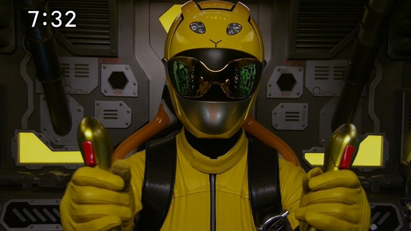 Super Sentai Images: Ranger Profile: Go-Busters Yellow Buster