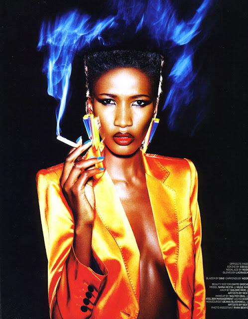 Editorial Nana Keita For May 2011 Blackbook Magazine Ciaafrique African Fashion Beauty Style