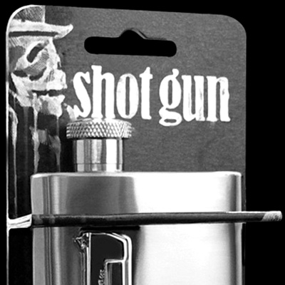 Suck UK Shot Gun Hip Flask