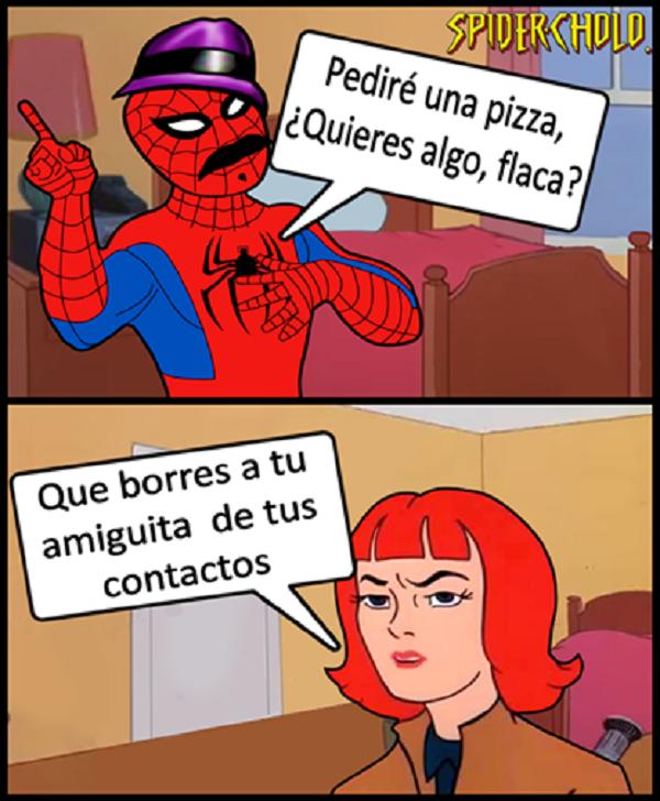 Pediré una pizza quieres algo