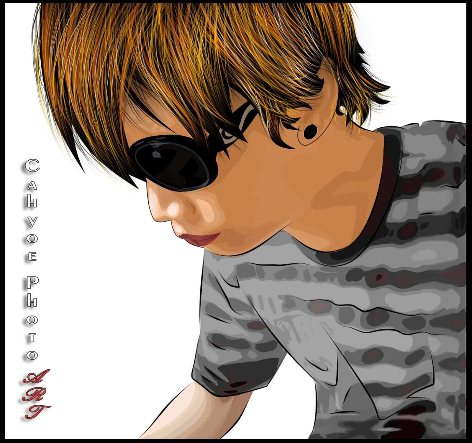 Cahyoe Blog Tutorial Vektor Vexel Pemula Photoshop Gambar Pria