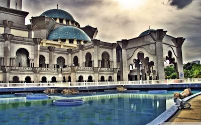 wallpaper gambar arsitektur masjid