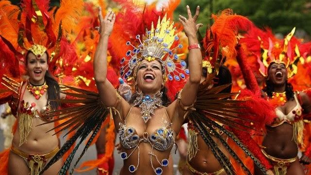 Notting Hill Carnival 2014 dancers