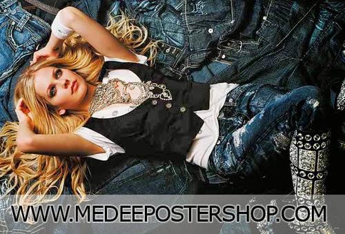 Avril Lavigne 2014 Poster
