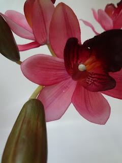 高品質な造花 シンビジウム