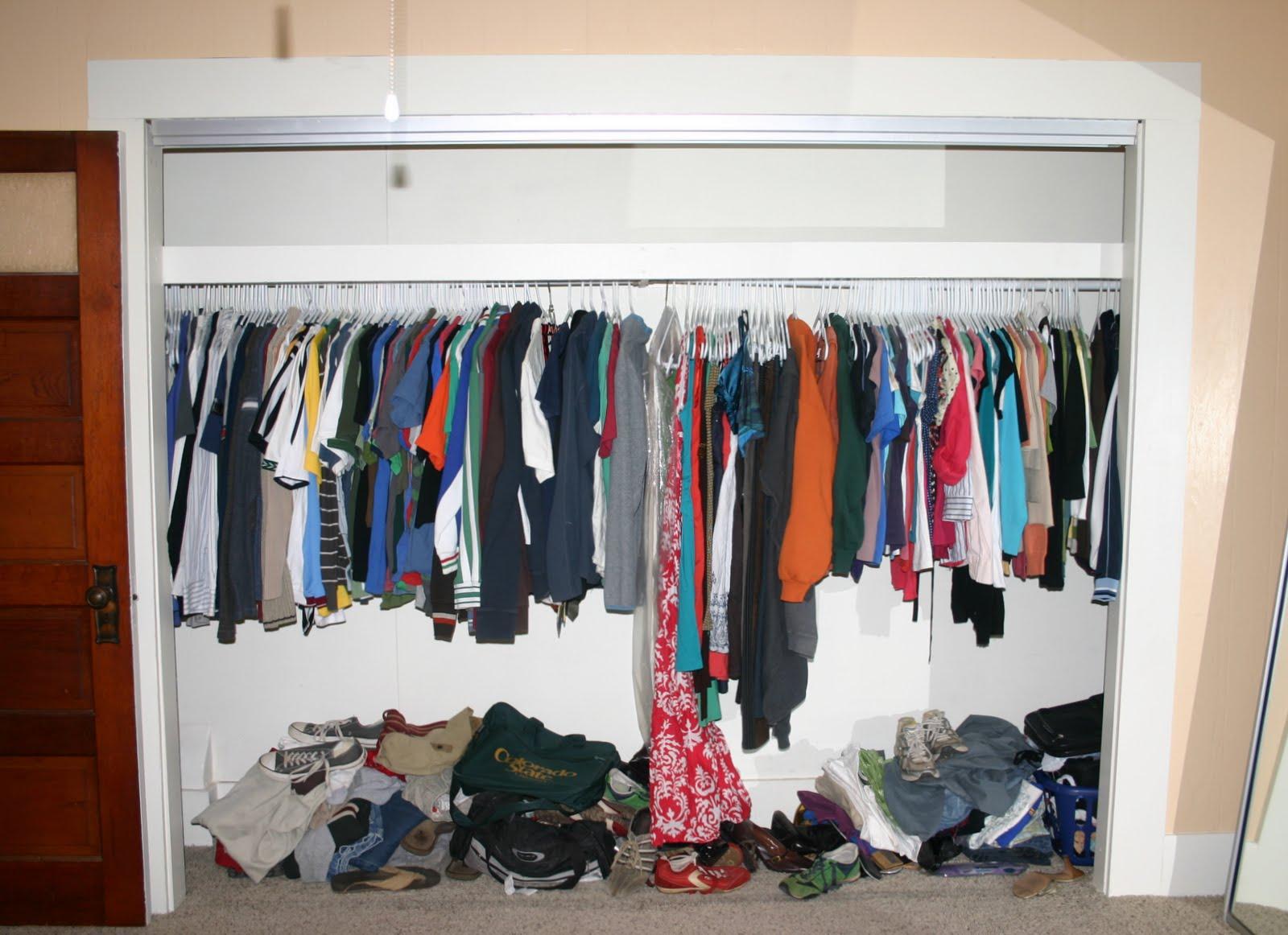 German jello salad diy closet organizer reveal you can for Diy clothes closet