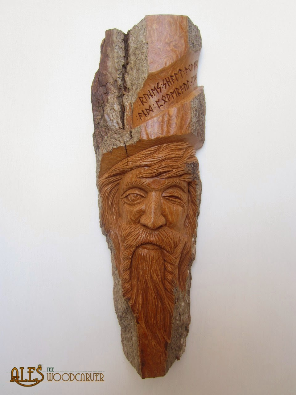 Ales the woodcarver odin one eyed