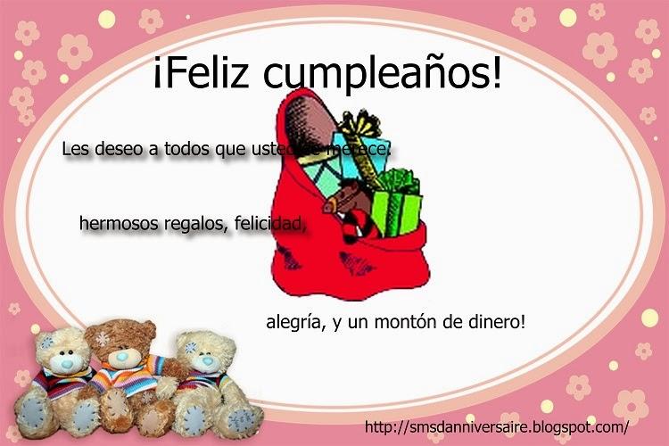 bon anniversaire ma cousine en espagnol