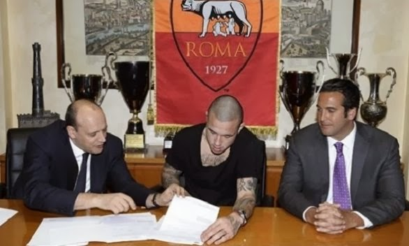 Radja Nainggolan and Leandro Paredes Officially join Roma