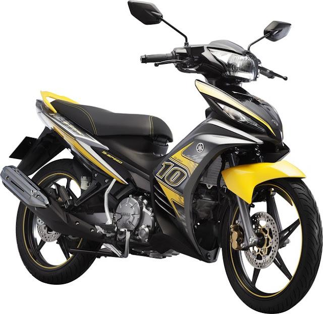 Exciter 135cc 2013 màu vàng