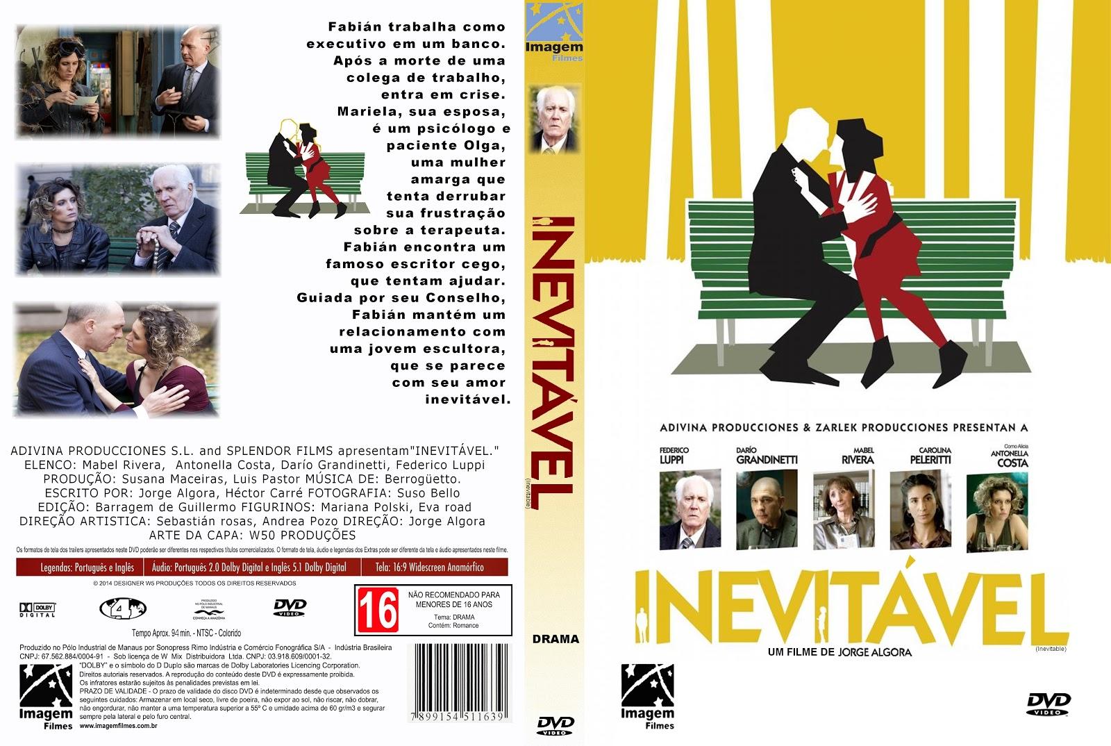 Capa DVD Inevitável