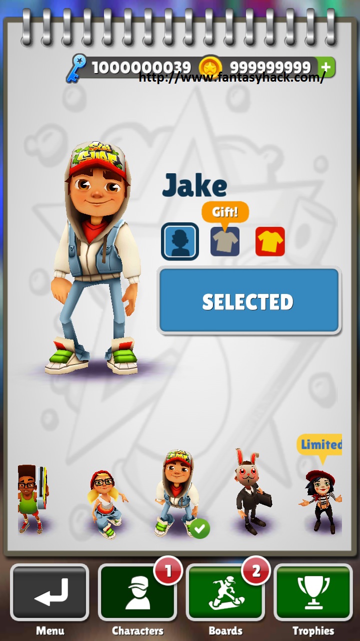 Subway Surfers Game Hack V1.4