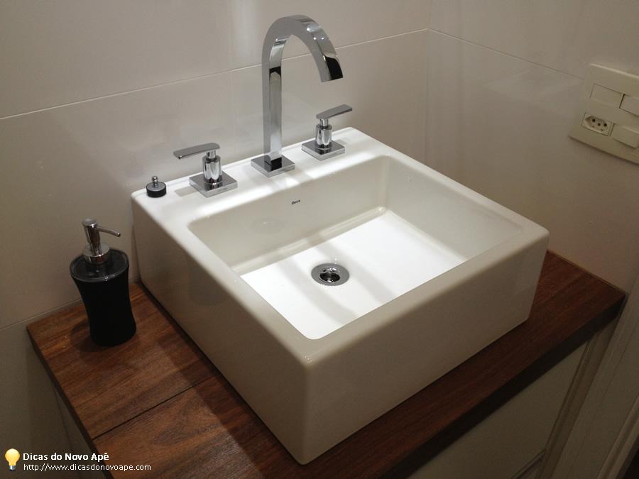 Dia a dia Torneiras dos Banheiros  Dicas do Novo Apê -> Cuba Banheiro Misturador
