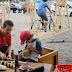 Vuelven los talleres de arte a la vereda de la Fundación Proa