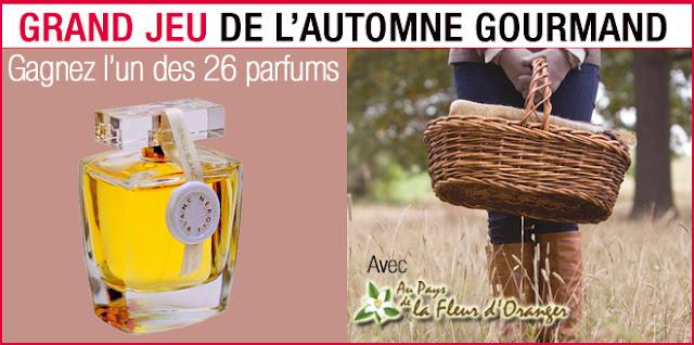 26 eaux de parfums Au Pays de la Fleur d'Oranger
