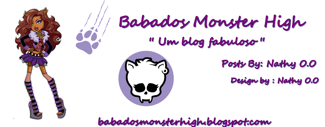 Babados Monster High