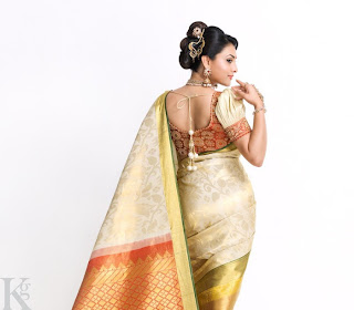 Divya Spandana Latest Saree Photoshoot