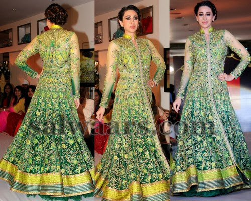 Karishma Kapoor Long Dress
