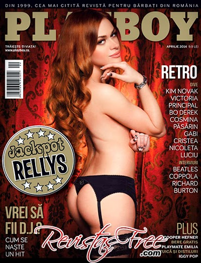 Playboy Romania - Rellys Tonu - Abril 2014