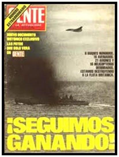 La guerra de las malvinas 82
