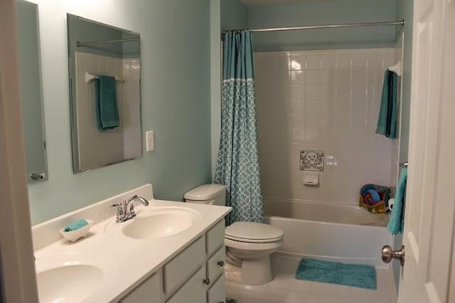 paint ideas for the bathroom wall