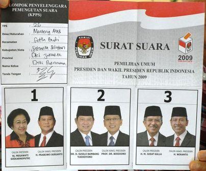 Arifuddin: Pemilihan Umum Presiden dan Wakil Presiden Indonesia 2009