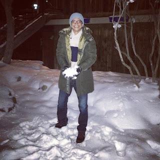 muita neve!