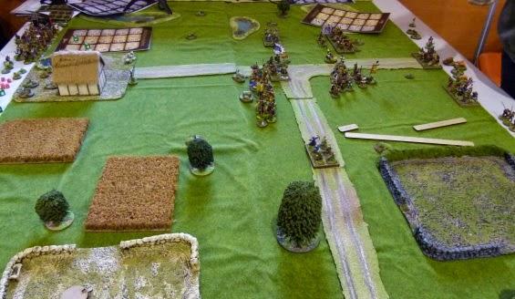 6° chevauchée des dragons de Vaires le 16/11/14: La bataille de Maldon P1090509