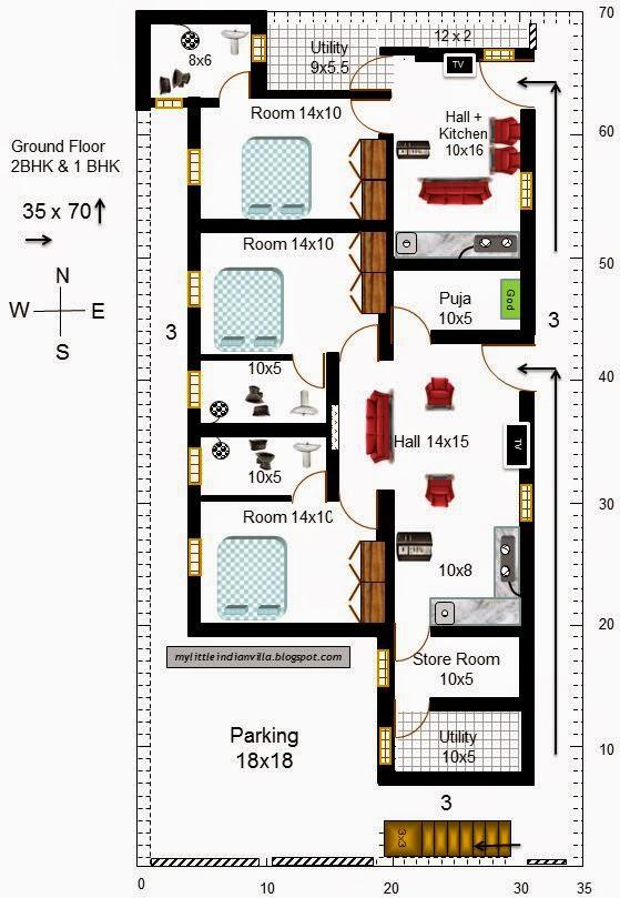 22 X 35 House Plans House Plans