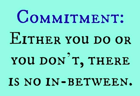 Image result for it's all about commitment pics