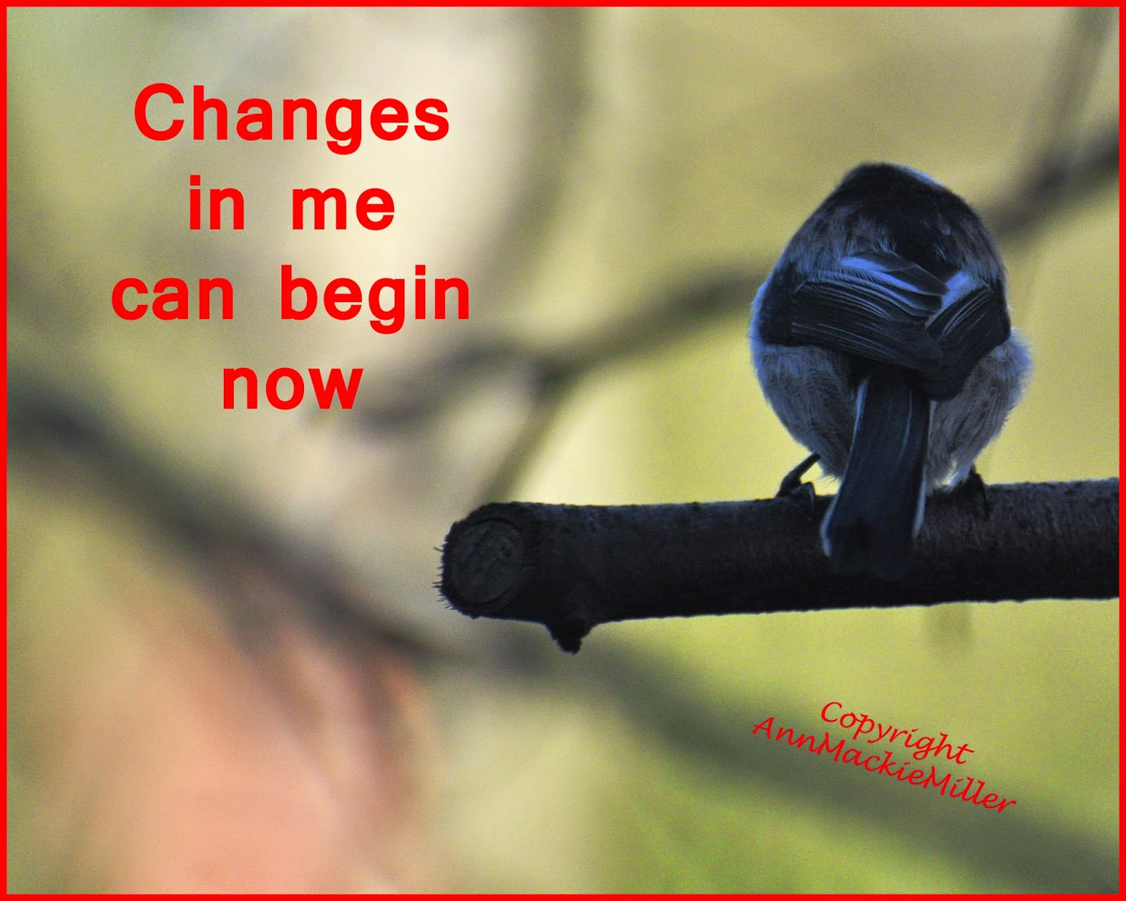 affirmation card - change