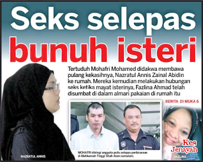 Asmara Bersaksi Mayat Isteri: Suami Dibebas Tuduhan Bunuh