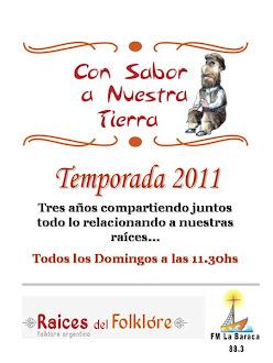 Escuchá nuestro programa por internet LOS DOMINGOS DE 11.30 A 13.00 (Haciendo clic en la imagen)