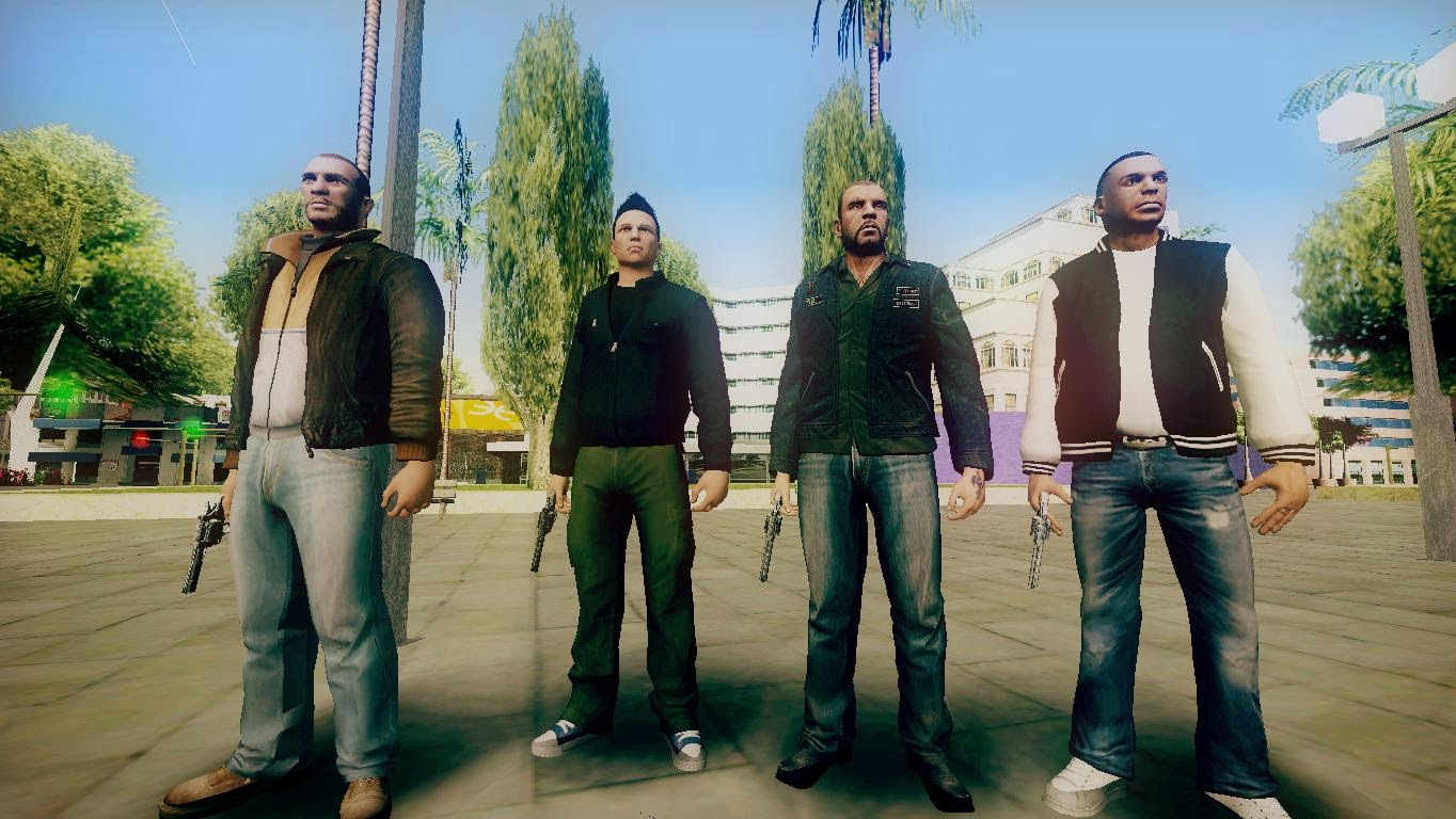 gta mods gta iv to gta v characters to sa gta v claude gta v nikoseen in gta online cutscene missing legs so re added gta v johnnysingleplayer gta iv tbogt luisleft out from v so converted from voltagebd Image collections