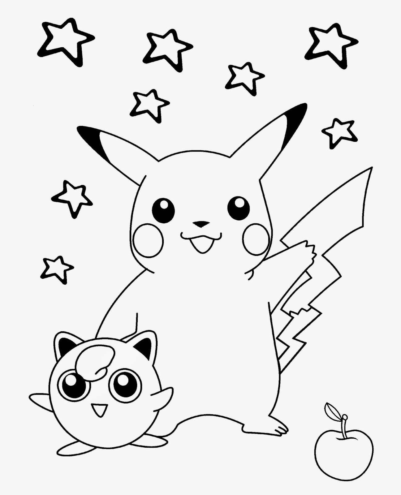 Free Printable Coloring Pages : Coloring pictures of pokemon free